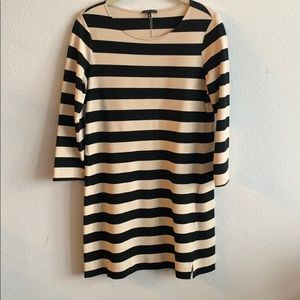 Theory striped dress